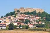Panoramic view of Lagopesole. Basilicata. Italy. — Stock Photo