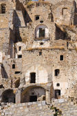 Panoramic view of Craco. Basilicata. Italy. — ストック写真