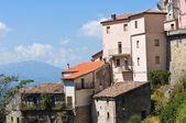 Panoramic view of Viggianello. Basilicata. Italy. — Stock Photo
