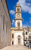Clocktower. Altamura. Puglia. Italy. — Stock Photo