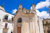 Church of Madonna dei Martiri. Altamura. Puglia. Italy. — Stock Photo