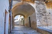 路地。ミネルヴィーノ murge。プーリア州。イタリア. — ストック写真