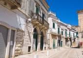 Alleyway. Minervino Murge. Puglia. Italy. — Stock Photo
