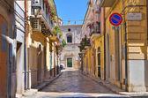 Alleyway. San Severo. Puglia. Italy. — Stock Photo