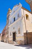 Kyrkan av St treenigheten av celestini. San severo. Puglia. Italien. — Stockfoto
