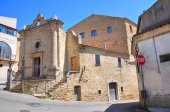 Kyrkan av st vincenzo. acerenza. basilicata. italien. — Stockfoto