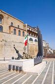 Panoramische Ansicht von Acerenza. Basilikata. Italien. — Stockfoto