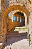 Zwabisch kasteel van rocca imperiale. Calabria. Italië. — Stockfoto