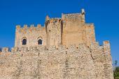 Roseto capo spulico zamku. kalabria. włochy. — Zdjęcie stockowe