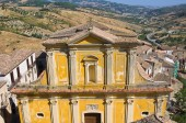 Mother Church of Oriolo. Calabria. Italy. — Stock Photo