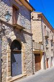 Alleyway. Guardia Perticara. Basilicata. Italy. — 图库照片