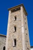 Church of St. Antonio. Guardia Perticara. Basilicata. Italy. — 图库照片