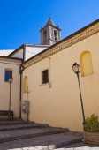 Annunziata Church. Cancellara. Basilicata. Italy. — Stockfoto