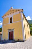 Church of St. Francesco. Viggianello. Basilicata. Italy. — Stock Photo
