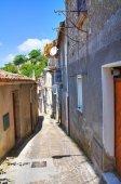 Alleyway. Viggianello. Basilicata. Italy. — Stock Photo