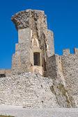 モラーノ カーラブロの城。カラブリア。イタリア. — ストック写真