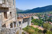 Panoramic view of Morano Calabro. Calabria. Italy. — Stock Photo