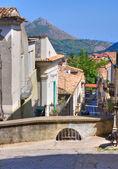Alleyway. Morano Calabro. Calabria. Italy. — Stock Photo