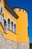 Loreti Palace. Satriano di Lucania. Italy. — Stock Photo