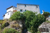 View of Satriano di Lucania. Italy. — Stock Photo