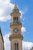 Clocktower. Altamura. Puglia. Italy. — Stock Photo