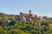 Panoramic view of Cancellara. Basilicata. Southern Italy. — Stock Photo