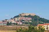 Panoramic view of Lagopesole. Basilicata. Southern Italy. — Stock Photo
