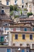 モラーノ カーラブロのパノラマ風景。カラブリア。イタリア. — ストック写真