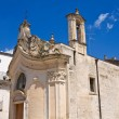 Church of Madonna dei Martiri. Altamura. Puglia. Italy. — Stock Photo #60546127