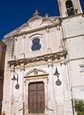Church of Carmine. Torremaggiore. Puglia. Italy. — Stock Photo