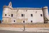 Ducal Castle of Torremaggiore. Puglia. Italy. — Stock Photo