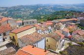 Panoramic view of Acerenza. Basilicata. Italy. — Stock Photo