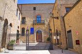 Bishop's Palace. Acerenza. Basilicata. Italy. — Stock Photo