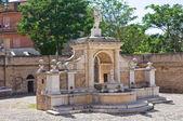Fountain Cavallina of Genzano di Lucania. Italy. — Stock Photo