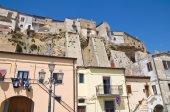 Panoramic view of Acerenza. Basilicata. Southern Italy. — Stock Photo