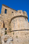 Swabian Castle of Rocca Imperiale. Calabria. Italy. — Stock Photo
