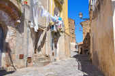 Alleyway. Rocca Imperiale. Calabria. Italy. — Stock Photo