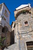 路地。ロッカ ・ インペリアーレ。カラブリア。イタリア. — ストック写真