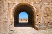 Suabia castillo de rocca imperiale. calabria. italia. — Foto de Stock