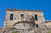 Schwabiska slottet rocca imperiale. kalabrien. italien. — Stockfoto