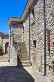 Alleyway. Guardia Perticara. Basilicata. Italy. — Stock Photo