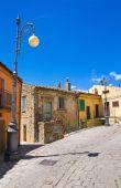 Alleyway. Pietragalla. Basilicata. Southern Italy. — Stock Photo