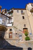 Alleyway. Cancellara. Basilicata. Italy. — Stock Photo