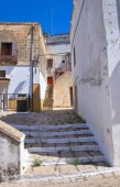 Alleyway. Laterza. Puglia. Italy. — Stock Photo