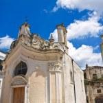 Church of Madonna dei Martiri. Altamura. Puglia. Italy. — Stock Photo #64072283