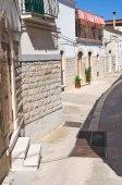 Beco. Minervino murge. Puglia. Itália. — Fotografia Stock