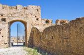 Castello Svevo di rocca imperiale. Calabria. Italia. — Foto Stock