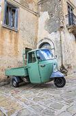 Alleyway. Moliterno. Basilicata. Italy. — Stock Photo