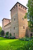 Castle of Castelguelfo. Emilia-Romagna. Italy. — Stock Photo