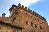 Podesta palace. Castellarquato. Emilia-Romagna. Italy. — Stock Photo